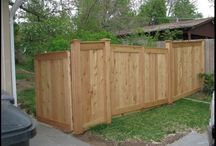 Cedar Fencing / We provide rustic cedar fence material. Our slats are bigger and our prices are lower.
