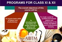 Bakery Programs for Class XI and XII Students