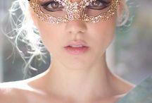 Máscaras de Carnaval / idéias e moldes