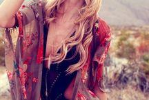 Boho/Hippie Style / Bohemian & hippie style.