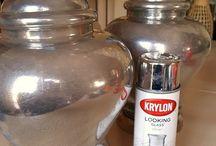 DIY Mercury Glass Projects