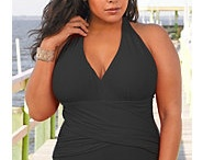 Plus Size Bathing Suits / Because women of all sizes want to have a cute bathing suit!  Not all of us big gals want the old fashioned swimsuits with a little flouncy skirt and WANT to embrace our curves.