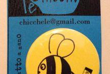 PINS LeChicche / Piccole PINS allegre e simpatiche per grandi e piccini!