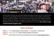 Dwell on Design® Designer Pin-spiration Competition