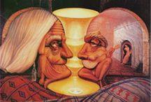 Octavio Ocampo e Suas Pinturas Cheias de Ilusões
