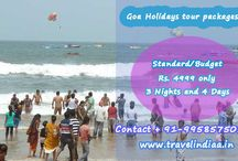 Goa Holidays Tour Packages / Goa is the famous place to see and enjoy, this amazing beach destination is popular for holidays, honeymoon and other activities.