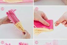 DIY / Ideas simples y fáciles para hacer en casa. Dedicado a los amantes de las manualidades