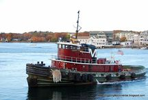 I <3 Tugs / Tugs from past and present / by Tara Peckio