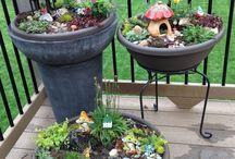 Garden decor 5 / fairy gardens / mini kertek