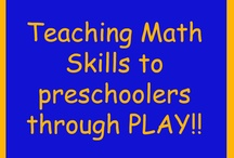 123s Numbers & Counting / Learning math for kids doesn't have to be a bore. These are fun ways for kids to learn math and counting! / by Jamie Reimer