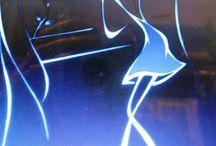 Fractal art - cirkák, vonalak