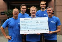 """Road to Awareness 2014 / On July 12th, 2014, the team colleagues of the five Starwood hotels in Frankfurt came together to run 12 km for a good cause. At the end of the day, the hotels had raised 2,500 Euros for Starwood's """"Road to Awareness"""" program that aims to raise over USD 600,000 to help provide life-saving water and sanitation in schools and communities in Somalia."""