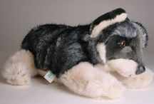 Wolf Wolves Coyotes / Luxury Plush Animals - Stuffed Wolves and Coyotes