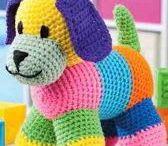 perro a crochet
