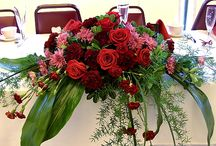 Head Table / Ideas for your head table by Beautiful Blooms by Jen and others.