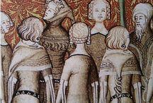 Coiffures medievales