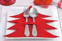 Christmas Table Setting '17
