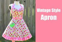 vintage/retro aprons