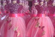 Decoraciones de botellas