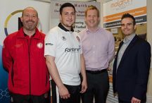 Crewe United Football Team. Sponsored by Maldron Hotel Belfast / Maldron Hotel Belfast are excited to be able to support local football team - Crewe United.