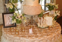 Event Inspiration: Cakes + Sweets Tables
