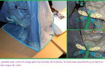 Reciclando - Jeans  http://www.pinterest.com/sourcilleon/ / http://www.pinterest.com/sourcilleon/