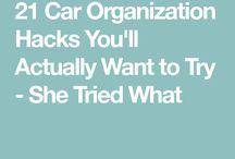 Tips to organize car