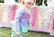 Mermaid Party Ideas / Join us for Estelle's 1st Birthday Mermaid Party! / by Birthday Express