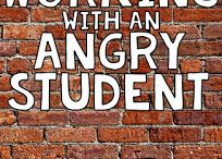 working with an angry student