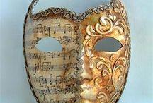 Venetians masks