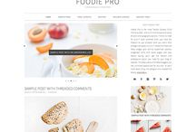 food blog templates / by Kelly Stubbs