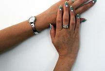 Stylizacje kursantek / students artnail / Stylizacje paznokci kursantów wykonane podczas szkoleń. (różne poziomy umiejętności)