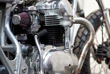 Motorcycle tanks