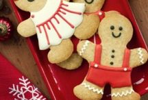 Gingerbread People / Gingerbread cookie cutters with gingerbread man, gingerbread girl, gingerbread boy, gingerbread lady