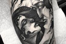 Tatuaże , Art , Ilustracje