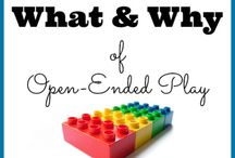 Open-ended Play Ideas / Ideas for open-ended play, activities, and fun for kids