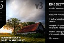 WordPress Themes for Photography / must see wordpress themes for photographer / by Miclee Thomas Br.