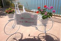 Zante Vintage Bike Welcome Sign / #Vintage Bike Welcome Sign available for #Weddings in #Zante