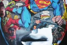 Clark is Kent (Superman tribute) / Slip rouge. Virgule capillaire. Big S.