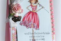 Stamping bella kort