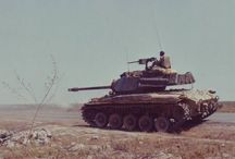 M-41 Walker Bulldog / The M41 Walker Bulldog was an American light tank developed to replace the M24 Chaffee.