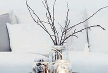 winter home deco