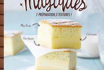 Recettes / Gâteau magique