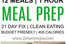 Multiple meal prep