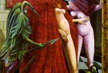 Max Ernst - La vestizione della sposa