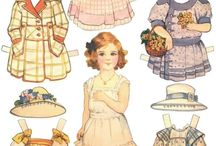 Paperdolls / Pics of paperdolls that would be fun to play with. I used to have a lot when I was a kid and my daughters had them; now my granddaughters are learning how much fun they can be. / by Cindy Keller