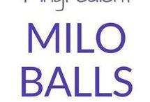 Milo Balls Recipe