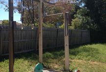Outdoor xfit gym