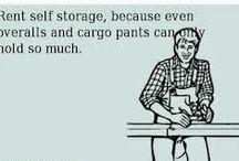 Storage Humor / Self storage jokes and memes
