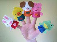 DIY - Títeres de dedo